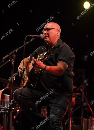 Stock Photo of Ken Block of Sister Hazel performs at the Old School Square Pavilion, Delray Beach, Florida, USA - 17 Apr 2021