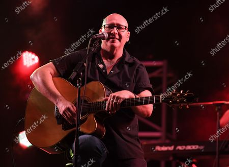 Ken Block of Sister Hazel performs at the Old School Square Pavilion, Delray Beach, Florida, USA - 17 Apr 2021