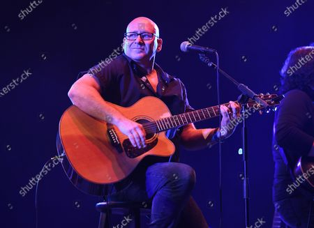Editorial image of Sister Hazel in concert, Old School Square Pavilion, Delray Beach, Florida, USA - 17 Apr 2021