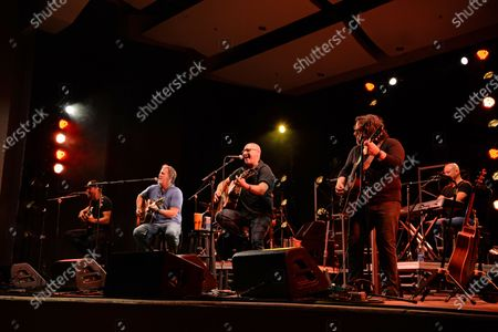 Editorial picture of Sister Hazel in concert, Old School Square Pavilion, Delray Beach, Florida, USA - 17 Apr 2021