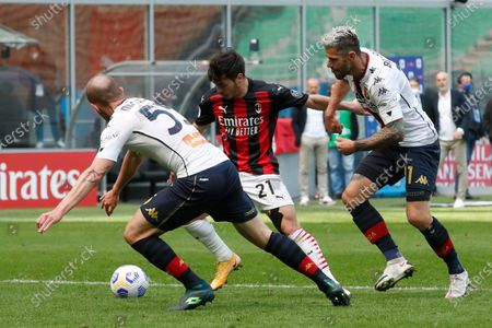 Editorial image of Soccer Serie A, Milan, Italy - 18 Apr 2021