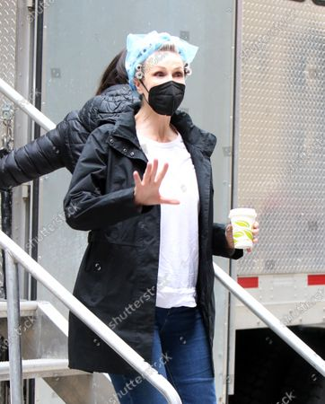 Jane Lynch heading to set of The Marvelous Mrs. Maisel