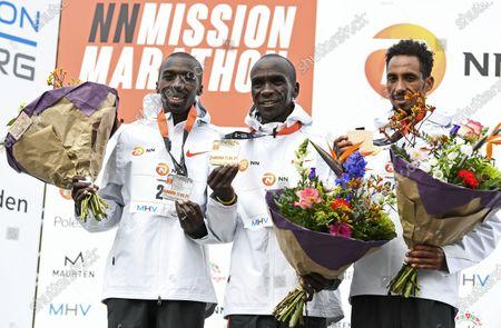 Editorial photo of Marathon, Enschede, Netherlands - 18 Apr 2021