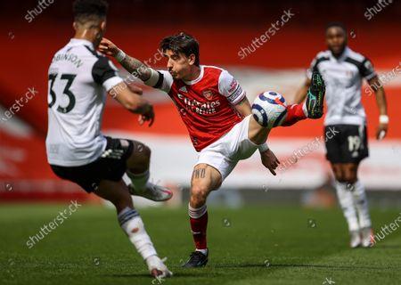 Editorial photo of Arsenal FC vs Fulham FC, London, United Kingdom - 18 Apr 2021