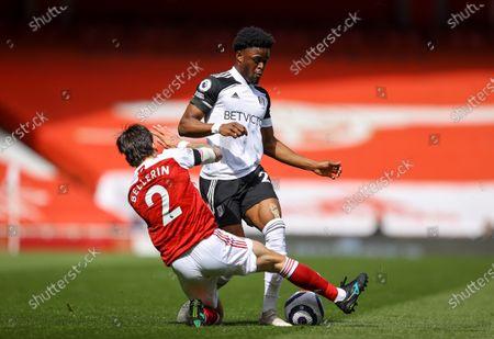 Editorial image of Arsenal FC vs Fulham FC, London, United Kingdom - 18 Apr 2021