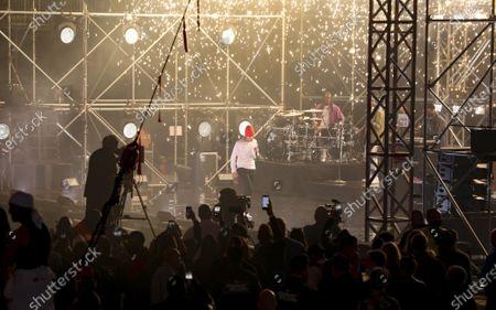 Editorial image of Justin Bieber In Concert - , Atlanta, United States - 17 Apr 2021