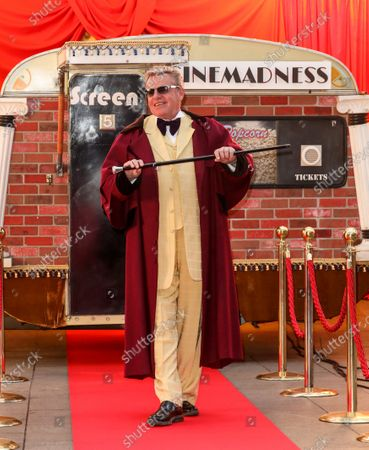 """Stock Photo of Suggs aka Suggs of Madness attends the """"Mad Miniature"""" premiere at Odeon Luxe Leicester Square in London."""