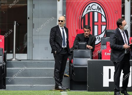Ivan Gazidis A.D. of AC Milan and Paolo Maldini Technical Area Director of AC Milan