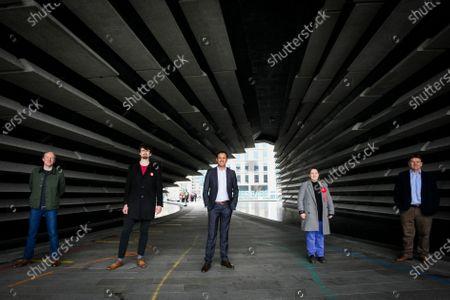 Editorial photo of Scottish Labour Leader Anas Sarwar Visits V&A Dundee, United Kingdom - 18 Apr 2021