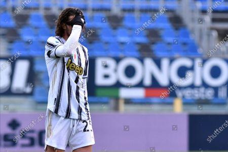 Editorial photo of Atalanta vs Juventus, Bergamo, Italy - 18 Apr 2021