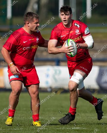 Stock Picture of Callum Hunter-Hill of Saracens