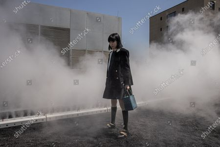Editorial photo of Ryuichi Sakamoto: seeing sound hearing time exhibition in Beijing, China - 18 Apr 2021