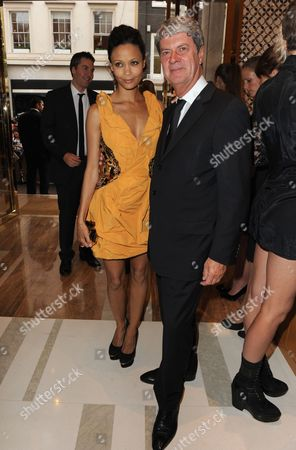 Thandie Newton and Yves Carcelle