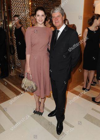 Gemma Arterton and Yves Carcelle