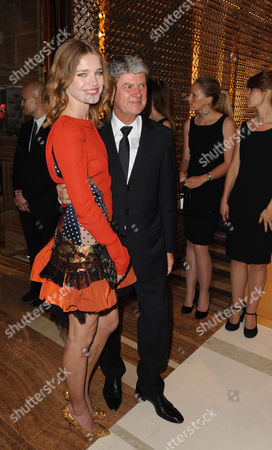 Natalia Vodianova and Yves Carcelle