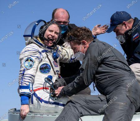 Expedition 64 Landing, Zhezkazgan