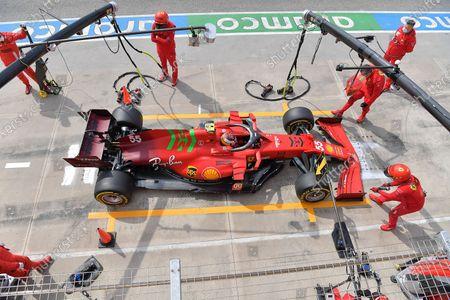 Carlos Sainz Jr. (ESP#55), Scuderia Ferrari Mission Winnow