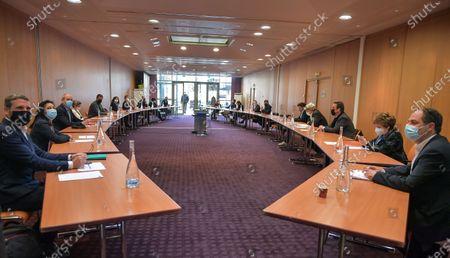 Editorial photo of EELV Meeting Presidential Left Parties 2022, Paris, France - 17 Apr 2021