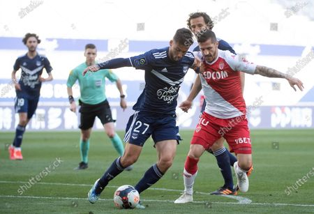 Editorial picture of BORDEAUX VS MONACO, France - 18 Apr 2021