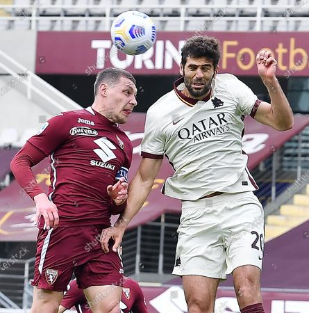 Editorial image of Torino FC vs AS Roma, Turin, Italy - 18 Apr 2021