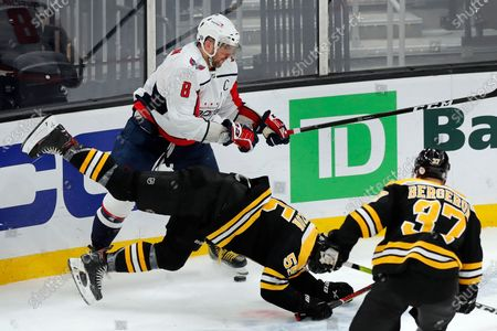Editorial image of Capitals Bruins Hockey, Boston, United States - 18 Apr 2021
