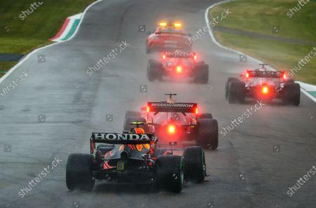 Sergio Perez (mex), Red Bull Racing Honda RB16B, action