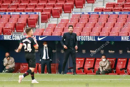 Diego Simeone, head coach of Atletico de Madrid
