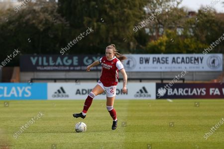 Stock Picture of Teyah Goldie (#29 Arsenal) first team debut