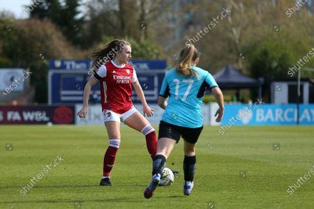 Teyah Goldie (#29 Arsenal) first team debut