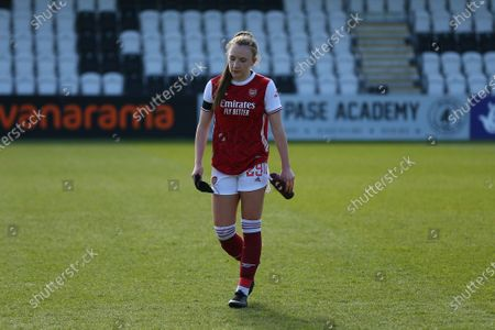 Editorial photo of Arsenal v Gilligham, Vitality Womens FA Cup, Meadow Park, London, UK - 18 Apr 2021