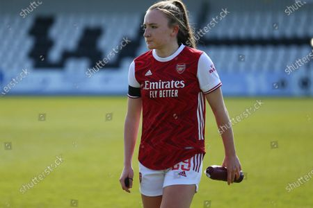 Editorial picture of Arsenal v Gilligham, Vitality Womens FA Cup, Meadow Park, London, UK - 18 Apr 2021