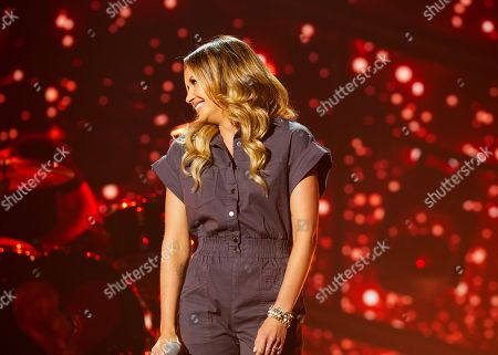 Carly Pearce and Lee Brice rehearses for the 56th Academy of Country Music Awards