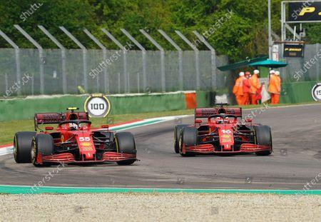 Carlos Sainz Jr. (ESP#55), Scuderia Ferrari Mission Winnow, Charles Leclerc (MCO#16), Scuderia Ferrari Mission Winnow