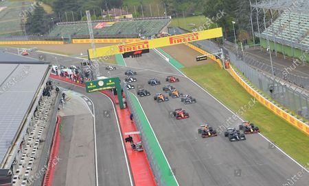 Editorial photo of F1 Emilia Romagna Grand Prix, Race, Circuit Enzo e Dino Ferrari, Imola, Italy - 18 Apr 2021