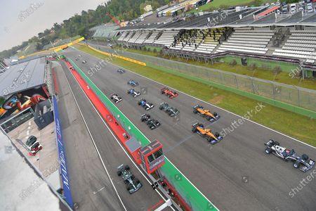 Editorial picture of F1 Emilia Romagna Grand Prix, Race, Circuit Enzo e Dino Ferrari, Imola, Italy - 18 Apr 2021