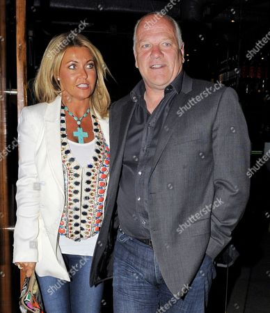 Andy Gray and partner, Rachel Lewis