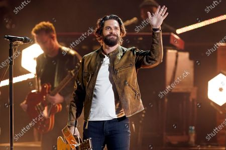 Thomas Rhett performs at the 56th annual Academy of Country Music Awards, at the Grand Ole Opry in Nashville, Tenn. The awards show airs on April 18 with both live and prerecorded segments