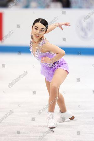 Editorial photo of ISU World Team Trophy in Figure Skating 2021, Osaka, Japan - 17 Apr 2021