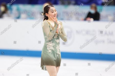 Editorial picture of ISU World Team Trophy in Figure Skating 2021, Osaka, Japan - 17 Apr 2021