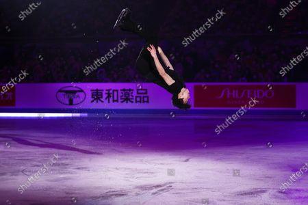 Nathan Chen (USA) - Figure Skating :  ISU World Team Trophy in Figure Skating 2021  Exhibition  at Maruzen Intec Arena Osaka, Osaka, Japan.