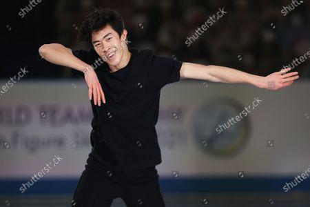 Editorial photo of ISU World Team Trophy in Figure Skating 2021, Osaka, Japan - 18 Apr 2021
