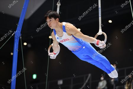 Editorial picture of The 75th All Japan Artistic Gymnastics Individual All-Around Championship, Takasaki, Japan - 16 Apr 2021