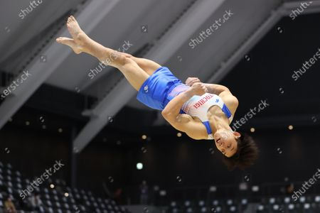 Koki Maeda - Artistic Gymnastics : The 75th All Japan Artistic Gymnastics Individual All-Around Championship Men's Floor preliminary  at Takasaki Arena, Gunma, Japan.