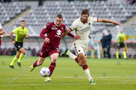Editorial photo of Torino FC v AS Roma - Serie A, Turin, Italy - 18 Apr 2021