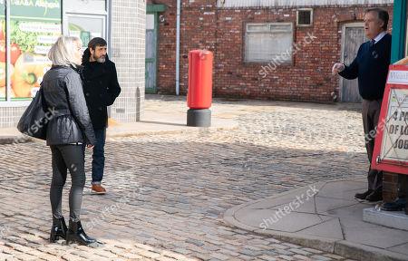 Editorial photo of 'Coronation Street' TV Show, UK - Apr 2021