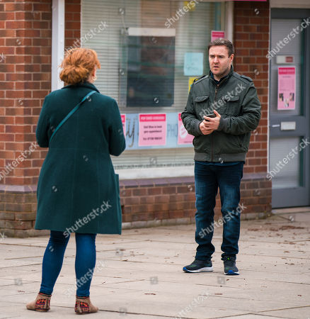 Coronation Street - Ep 10307 & Ep 10308 Friday 23rd April 2021 Tyrone Dobbs, as played by Alan Halsall, inadvertently uploads the photos from his romantic night in Knutsford with Alina onto the family photo roll. Fiz Stape, as played by Jennie McAlpine, urges Tyrone to speak to Hope but Tyrone refuses, asserting that she's better at dealing with Hope than him.