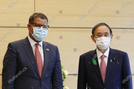 COP 26 President Alok Sharma visit to Tokyo