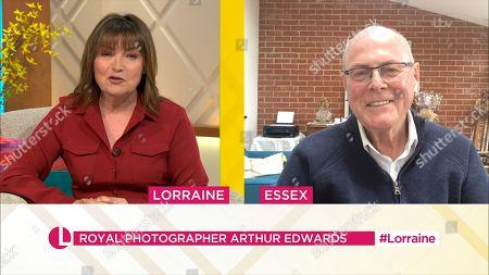 Editorial photo of 'Lorraine' TV Show, London, UK - 19 Apr 2021