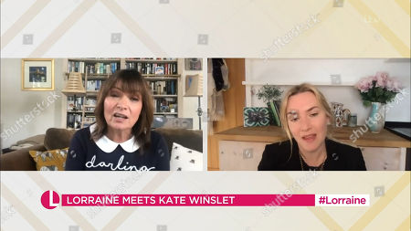 Stock Photo of Lorraine Kelly and Kate Winslet