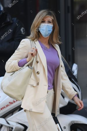 Exclusive - Kate Garraway out and about, London